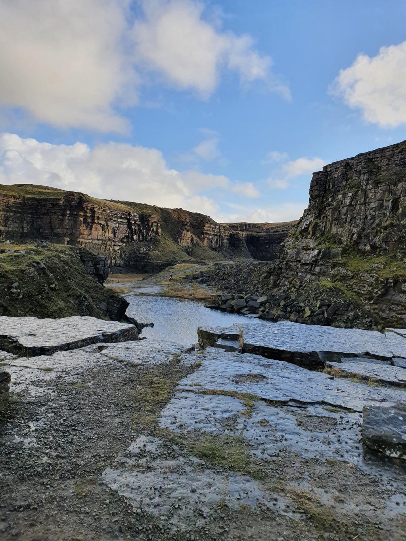 hills around John 'O Groats